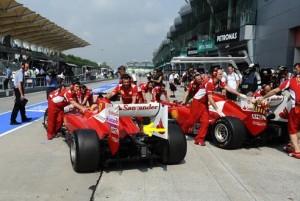 Saída de ar da Ferrari F2012. Foto: Ferrari