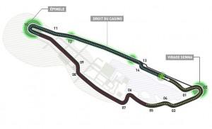 Circuito Gilles Villeneuve. Foto: FIA
