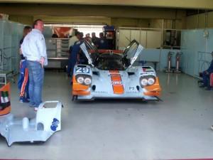 Magnífica foto do protótipo Lola B12/80 da categoria LMP2, feita pelo próprio Eduardo Casola Filho...