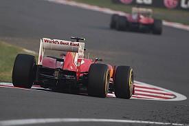 Massa: seguindo Alonso mais de perto