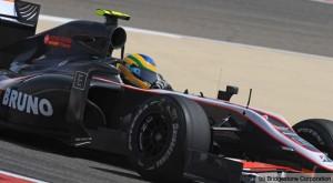 Bruno Senna pilotou para a Hispania HRT em 2010