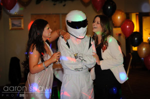 The Stig is good with the ladies...