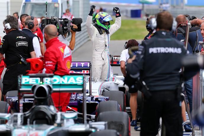 Felipe Massa volta ao pódio!