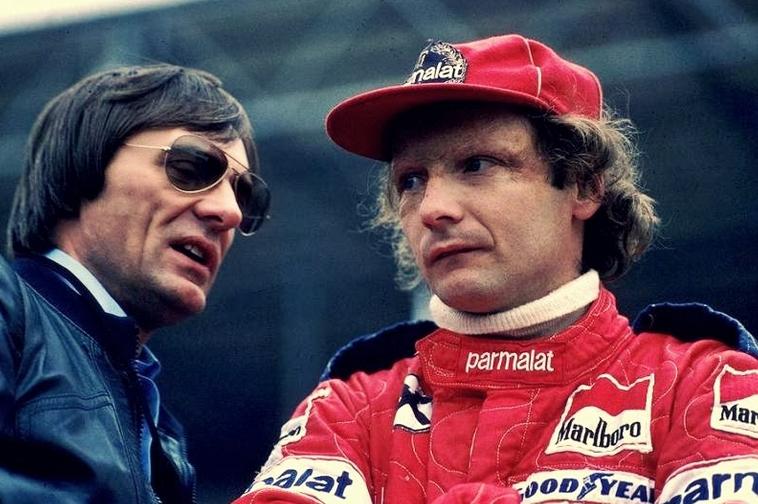 Bernie Ecclestone Niki Lauda