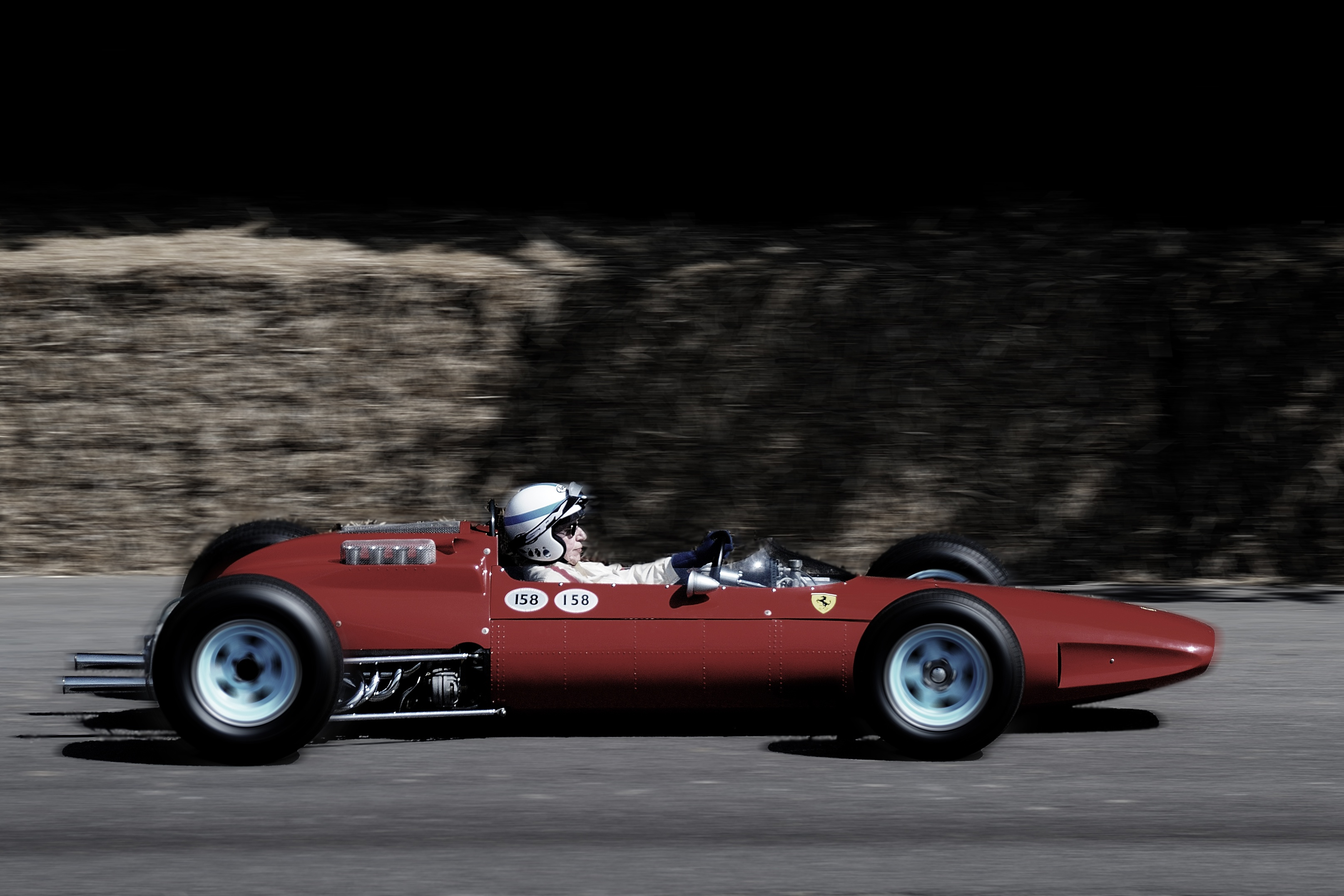 Surtees Ferrari 158 Goodwood July 2010