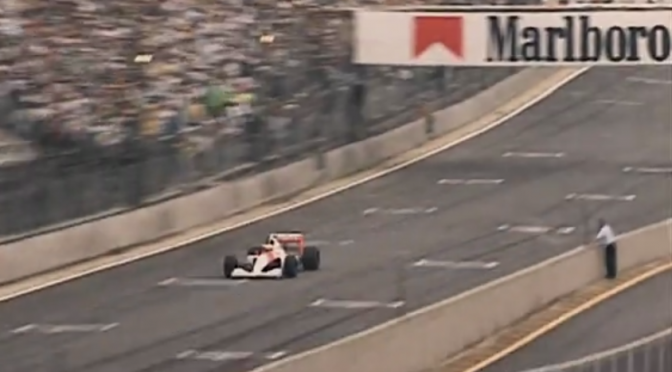 SENNA INTERLAGOS 1991