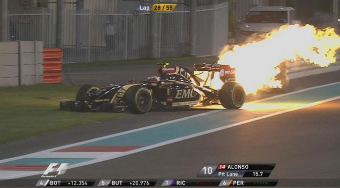 maldonado fire fogo motor engine failure estouradoCapture