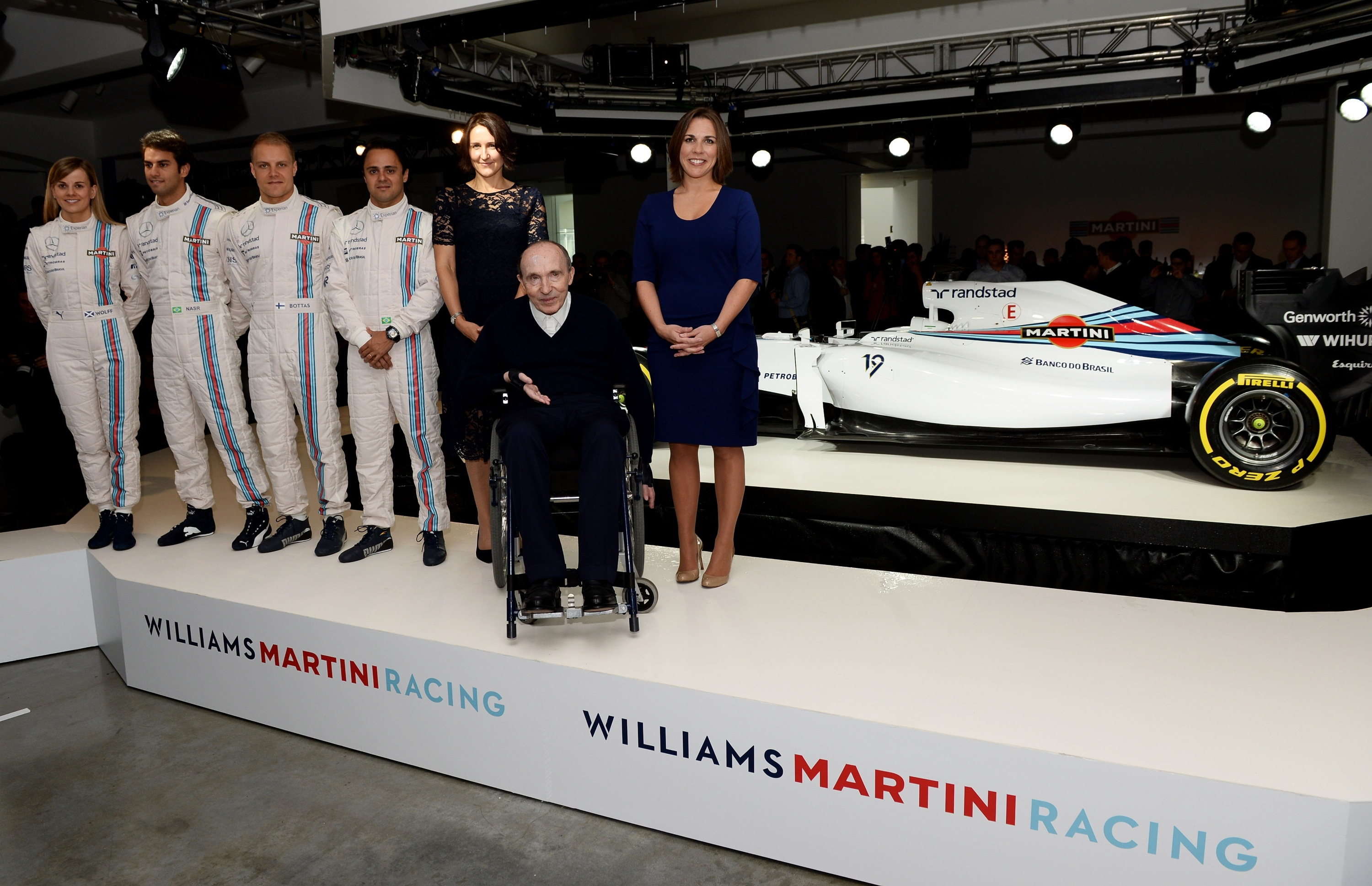 Williams Martini Racing Team Launch
