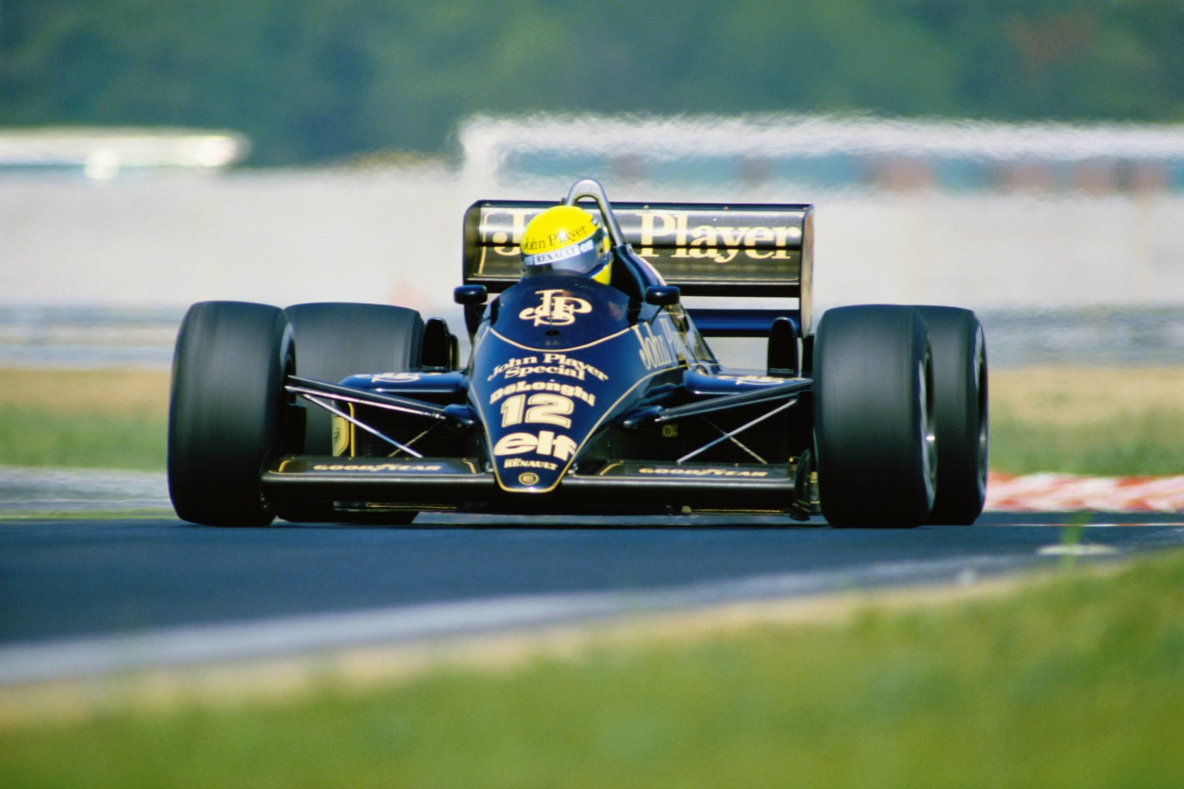 1986Hungaroring Ayrton Senna Lotus 98T