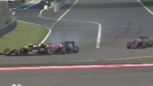 BUTTON MALDONADO CRASH SHANGHAI