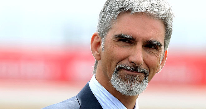 """The name is Hill. Damon Hill."""