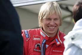 O Räikkönen sorridente