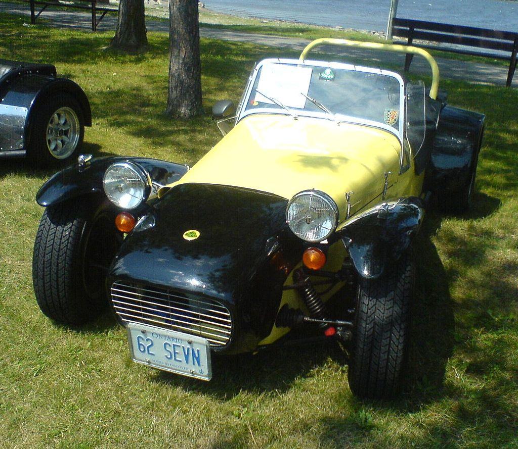 Lotus 7 1962. Carro de playboy.