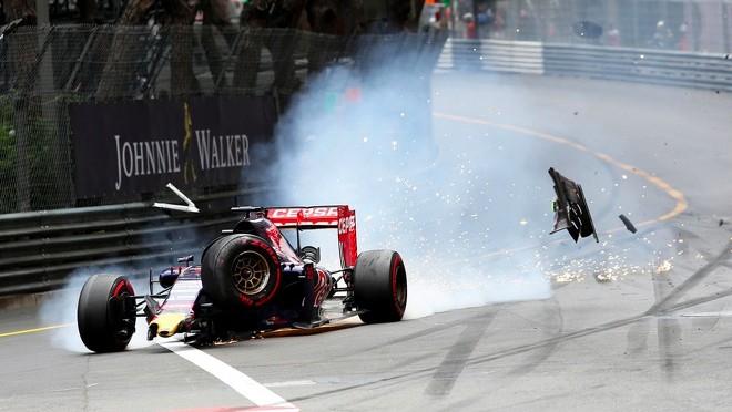 verstappen grosjean monaco crash