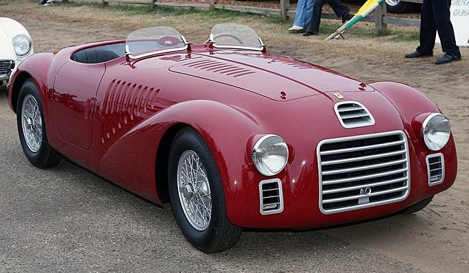 O primeiro carro construído com o nome Ferrari: a 125 S de 1947