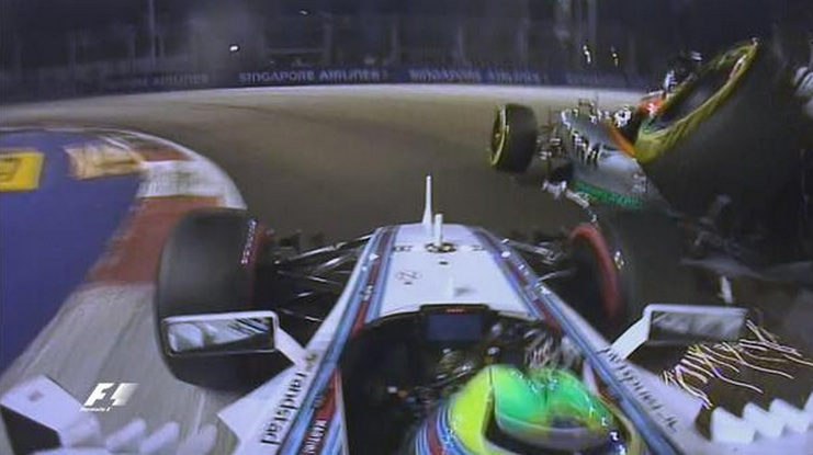 MASSA CRASH HULK