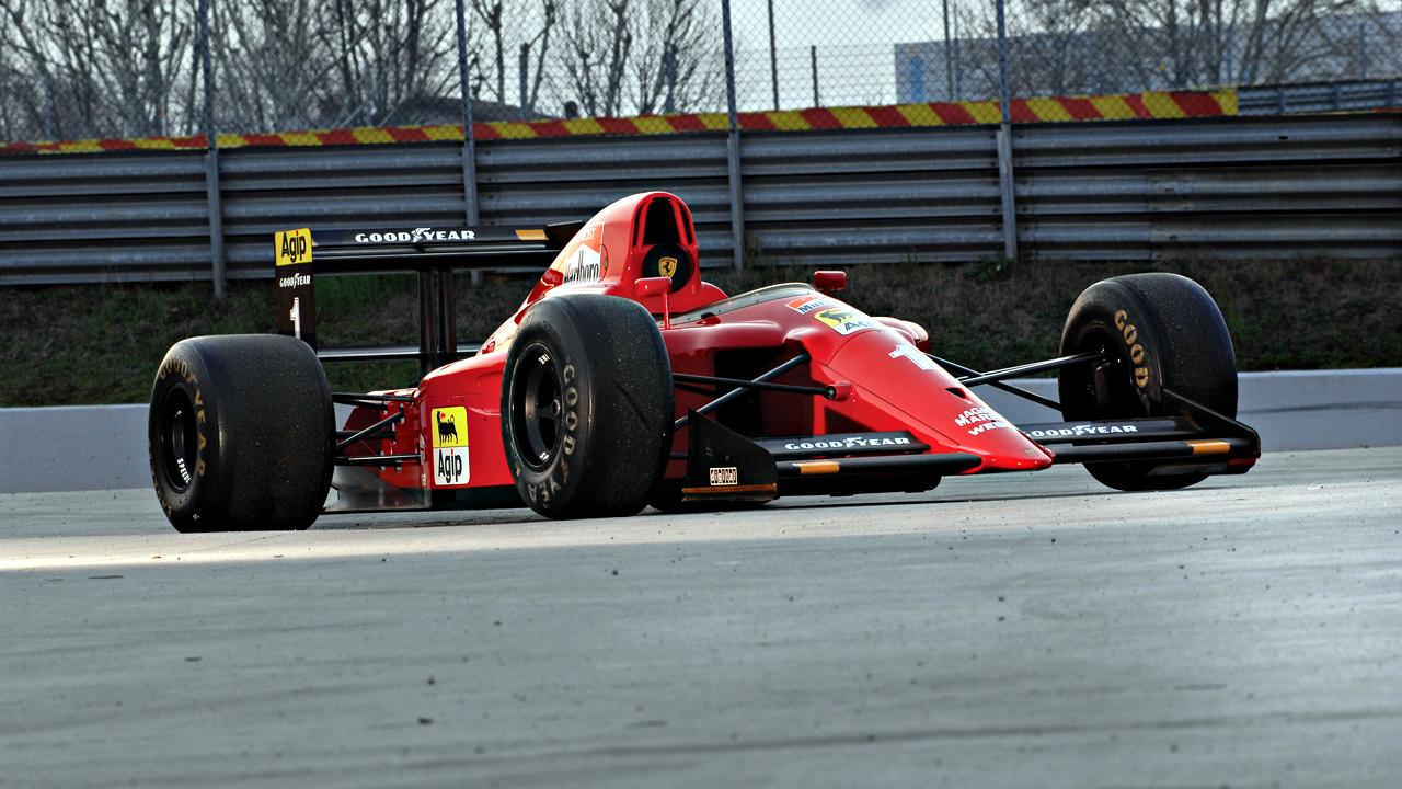 Ferrari641F1side