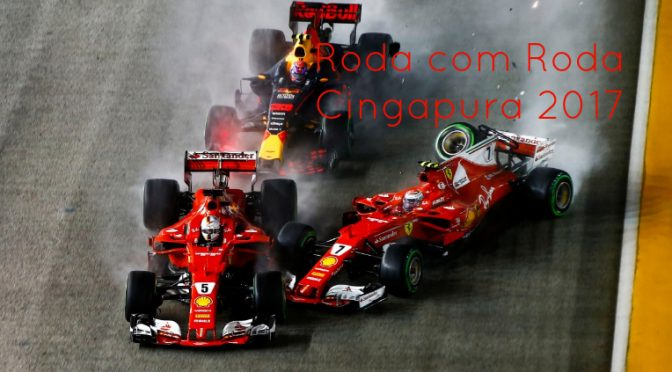241 GP de Cingapura: Shoey ao vivo no YouTube, Vettel e o Maxixe, Verstappen Expiatório e muito mais