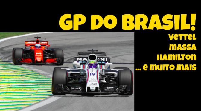 Vote! Ajude a Escolher os Melhores e Piores do GP do Brasil!