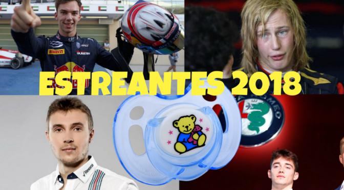 248 Estreantes 2018: Leclerc, Sirotkin, Garly, Hartley